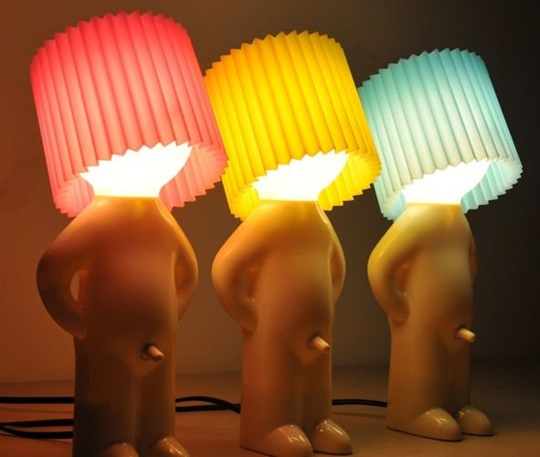 Wstydliwa lampka