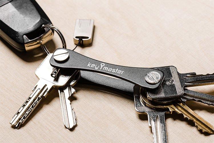 Najnowsze Key master / organizer do kluczy - czarny - Gadget Master | sklep OM22